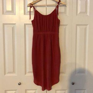 Madewell silk skyway dress
